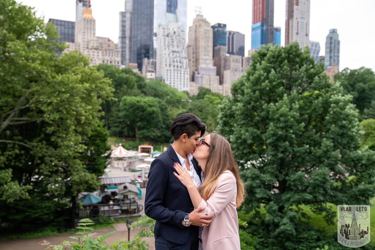 Photo 4 Same Sex Proposal in Central Parks   VladLeto