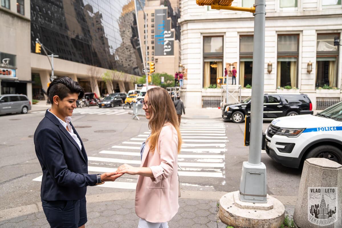 Photo 11 Same Sex Proposal in Central Parks   VladLeto