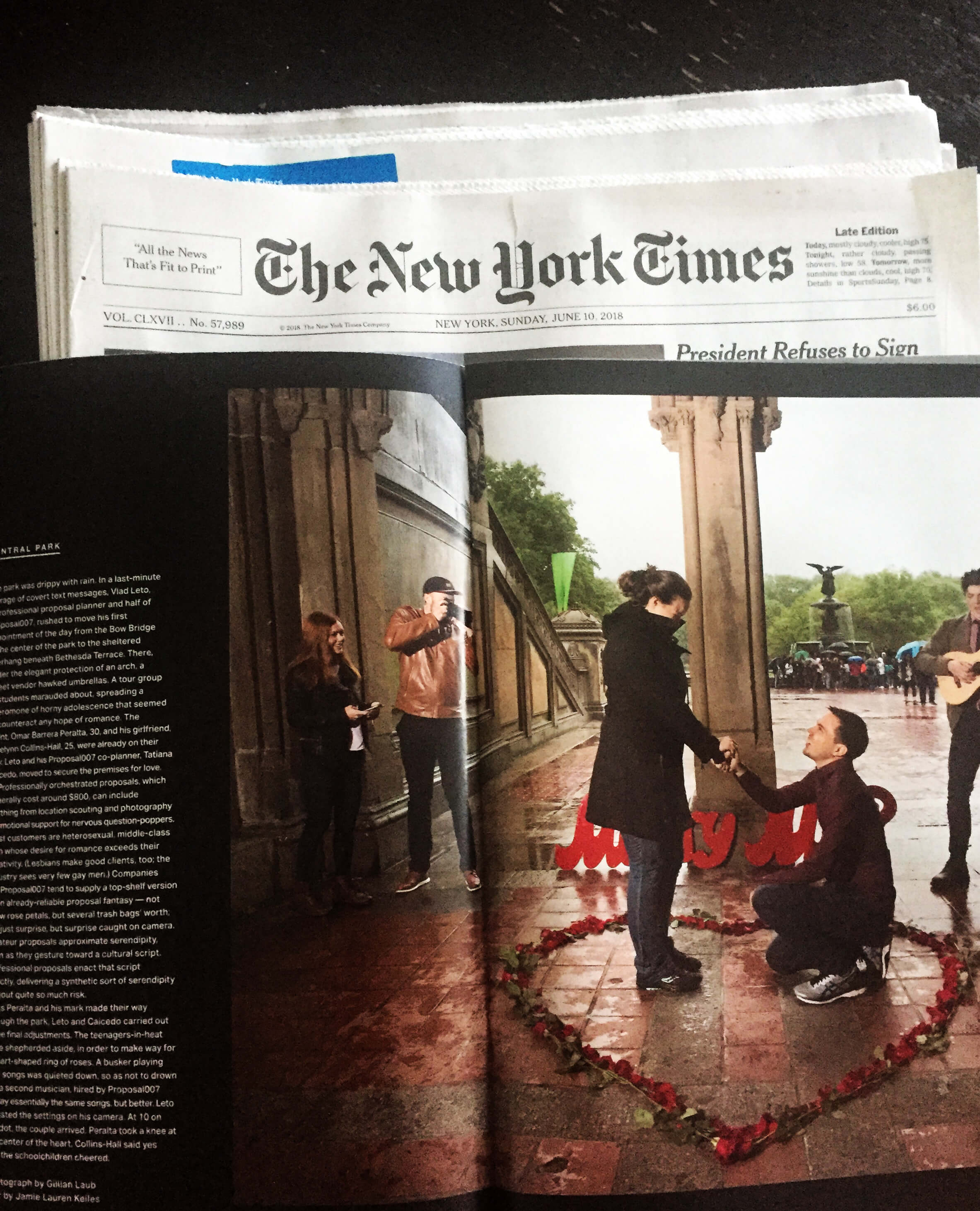Photo New article about me in The New York Times. | VladLeto