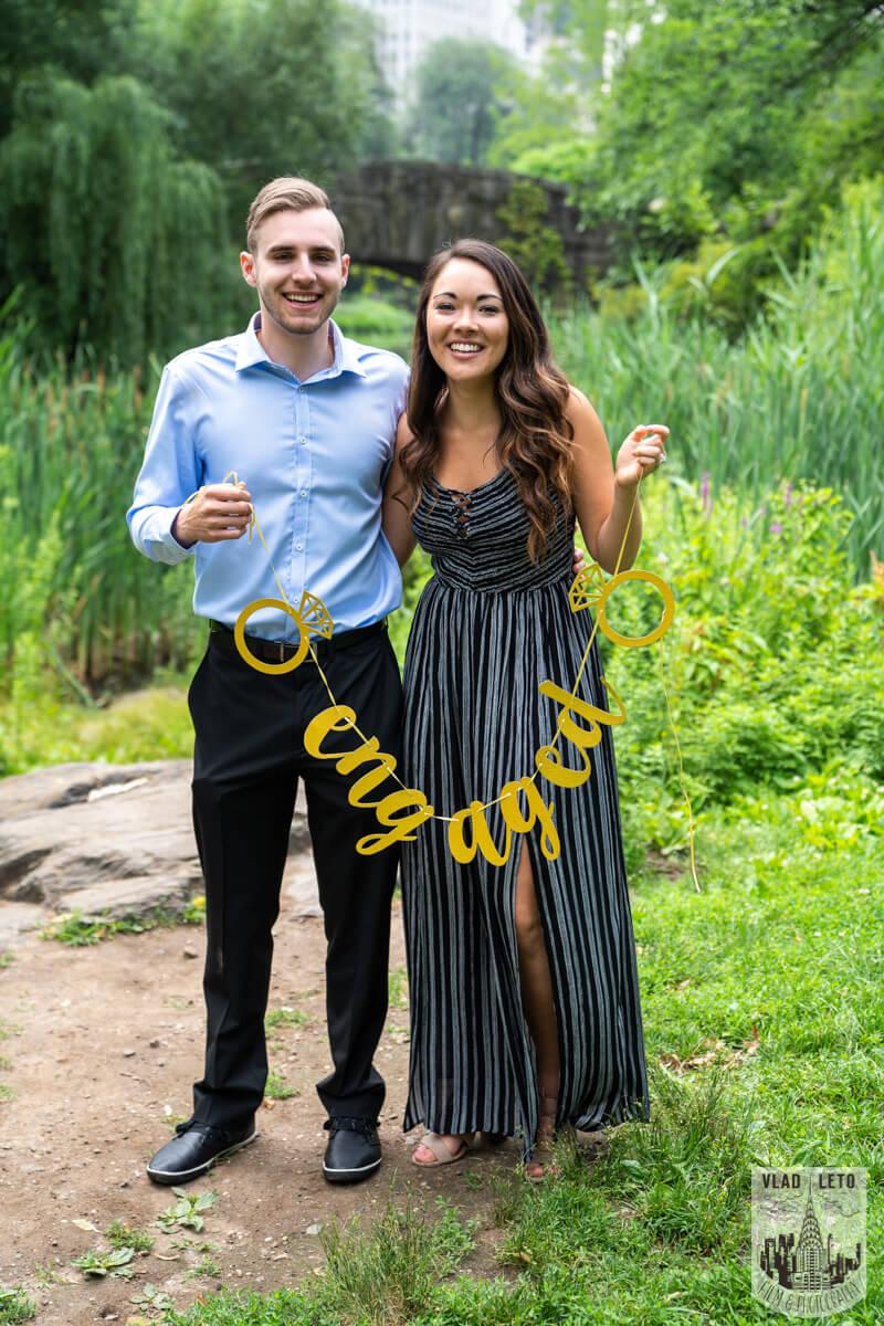 Photo 3 Central Park Surprise proposal by Gapstaw Bridge. | VladLeto