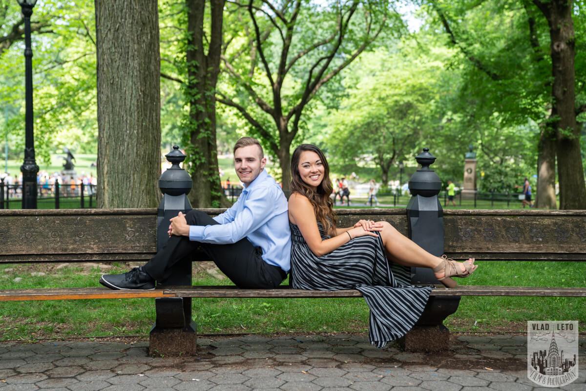 Photo 10 Central Park Surprise proposal by Gapstaw Bridge. | VladLeto