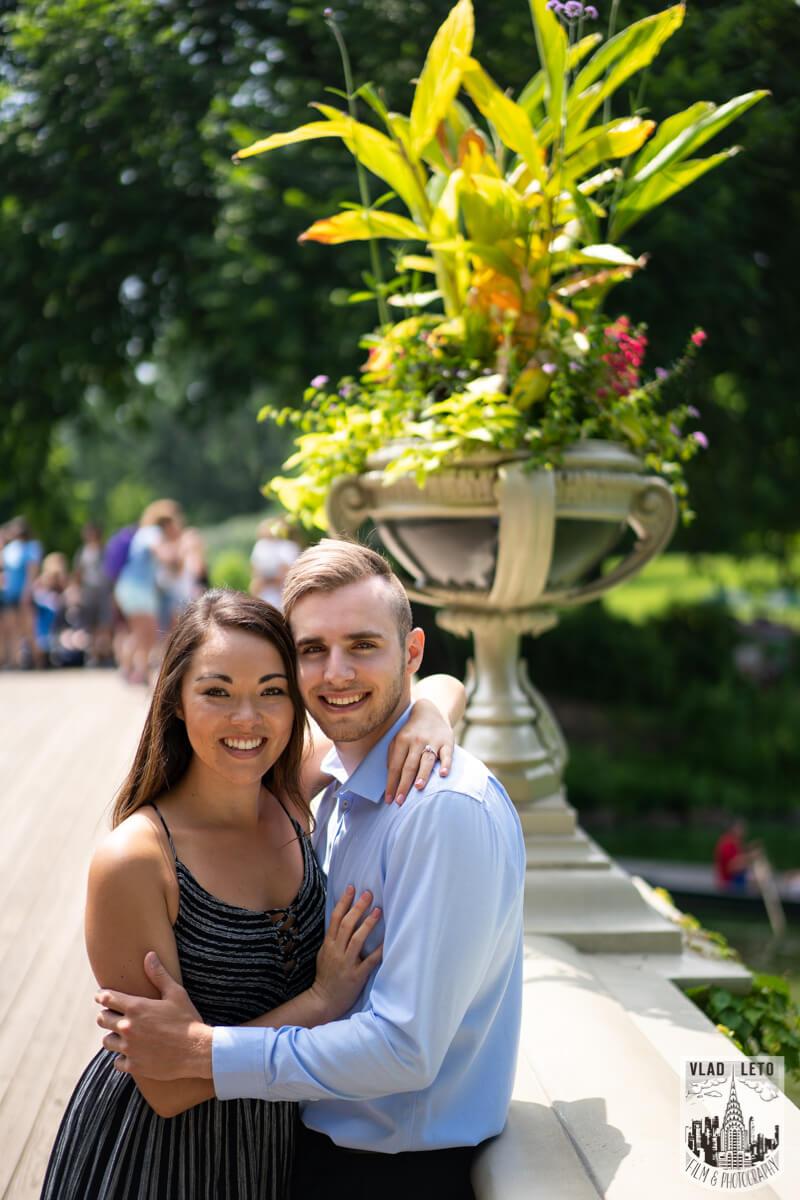 Photo 5 Central Park Surprise proposal by Gapstaw Bridge. | VladLeto