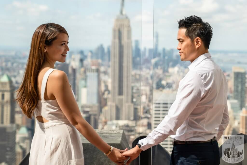 Photo 4 Top of the Rock Marriage Proposal 2