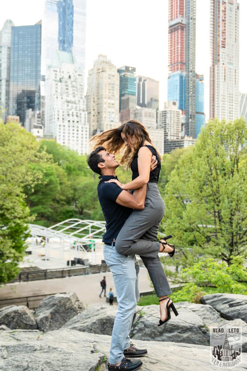 Photo 5 Proposal on Bow Bridge Central Park   VladLeto