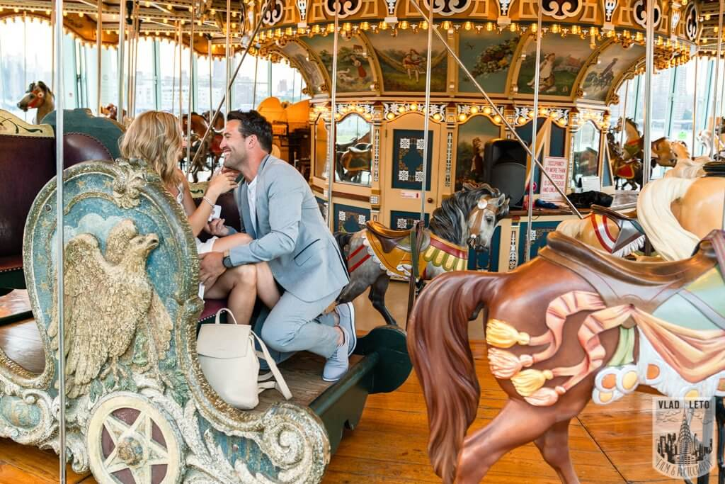Photo 3 Brooklyn Carousel Proposal | VladLeto