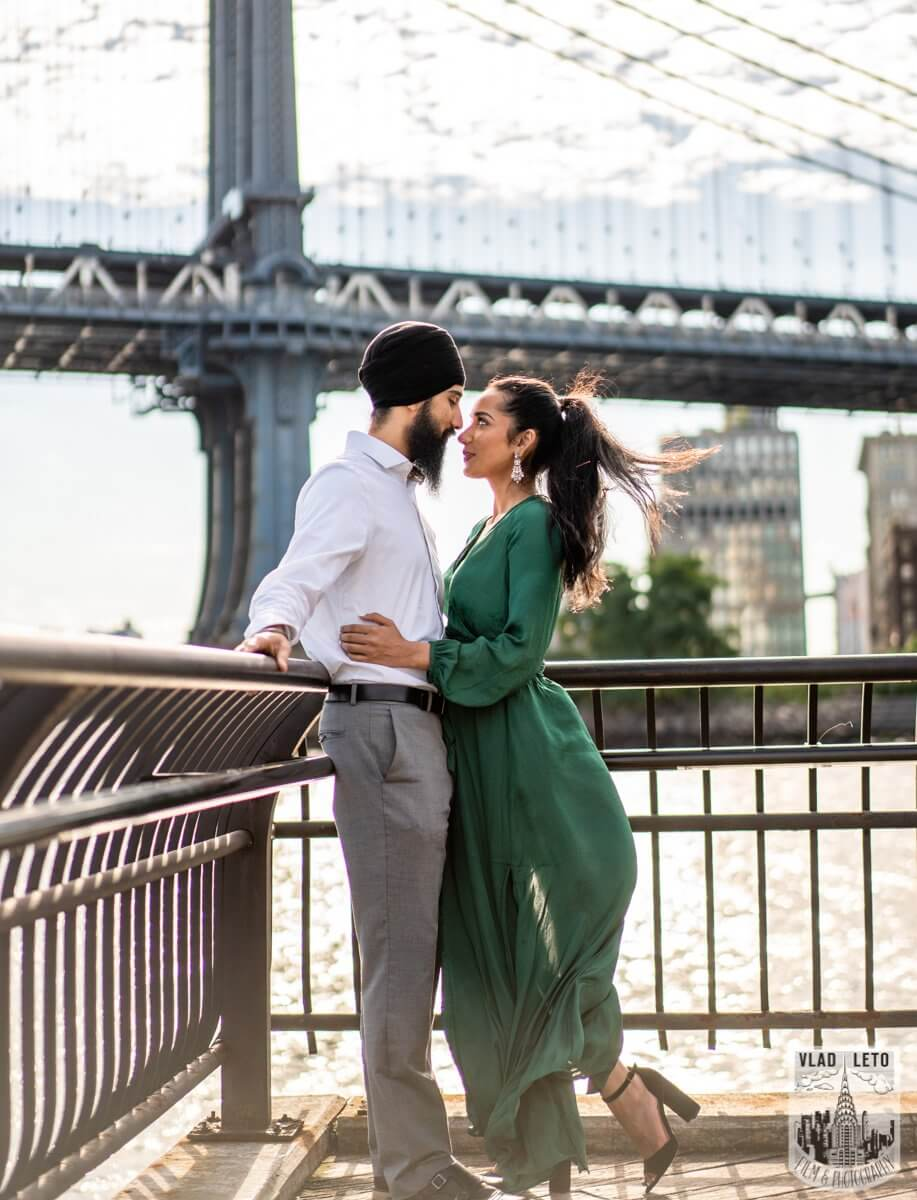 Photo 17 BEST Proposal Reaction! Brooklyn bridge park. | VladLeto
