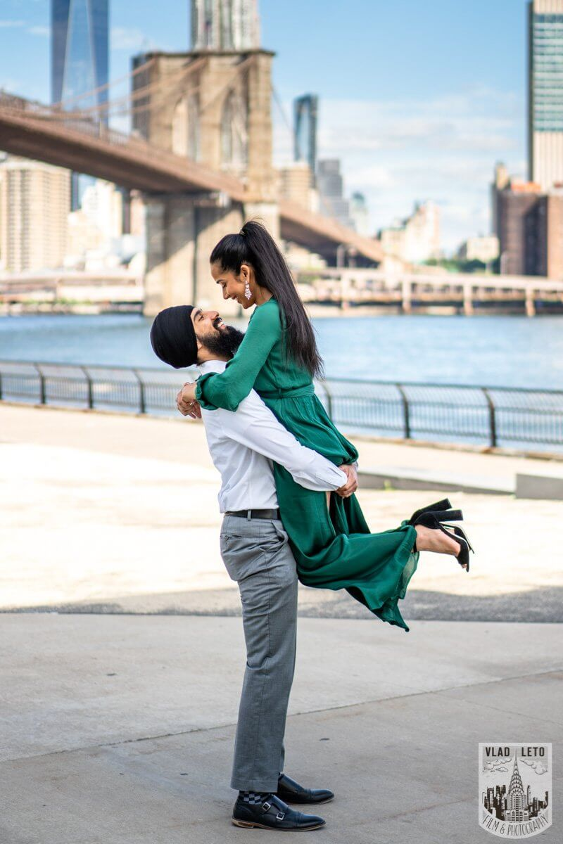 Photo 5 BEST Proposal Reaction! Brooklyn bridge park. | VladLeto