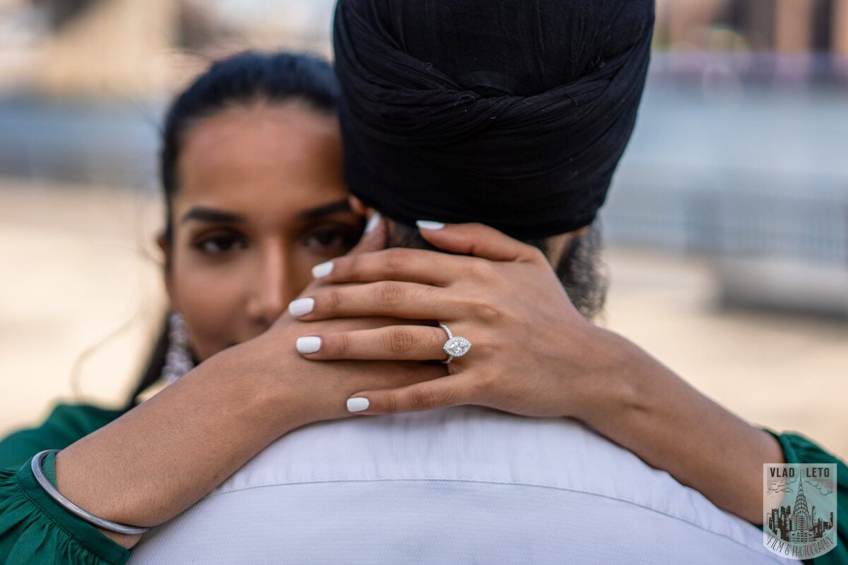 Photo 11 BEST Proposal Reaction! Brooklyn bridge park. | VladLeto