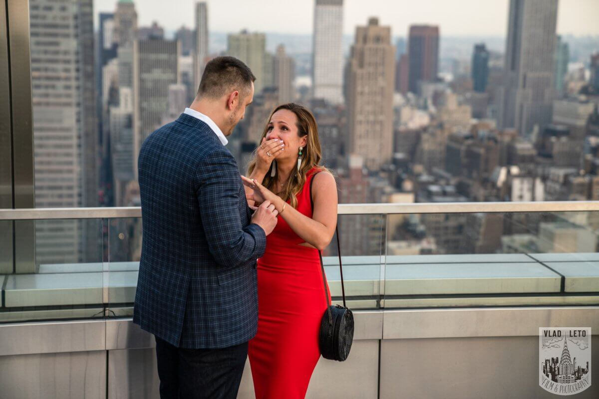 Photo 3 Empire State Building view Rooftop proposal | VladLeto