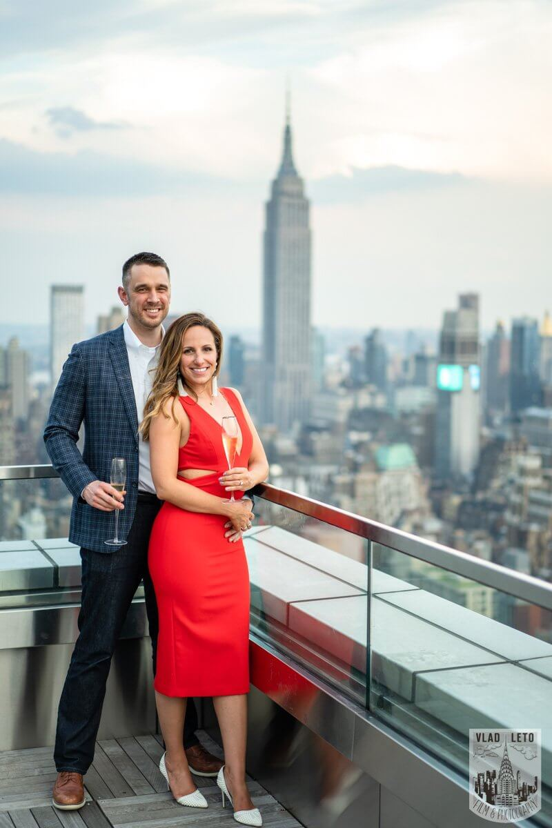 Photo 11 Empire State Building view Rooftop proposal | VladLeto