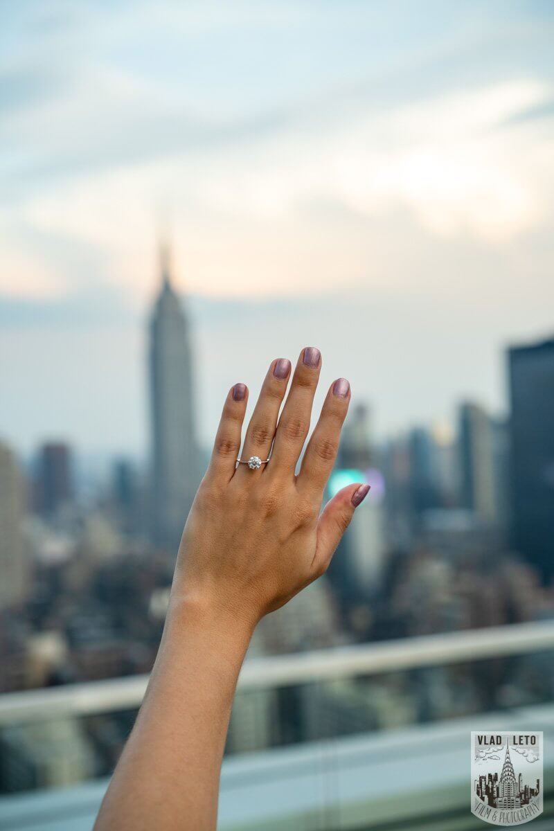 Photo 9 Empire State Building view Rooftop proposal   VladLeto