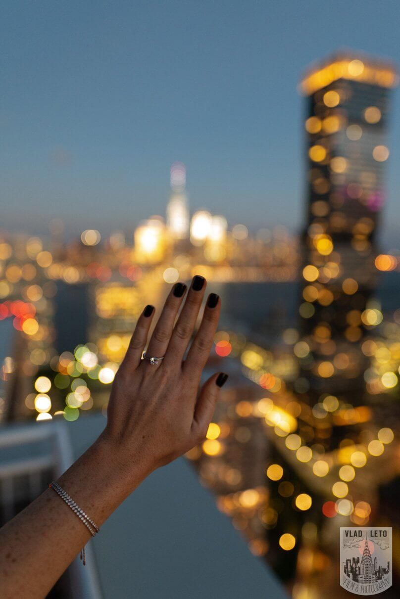 Photo 7 Jersey City Rooftop Proposal | VladLeto