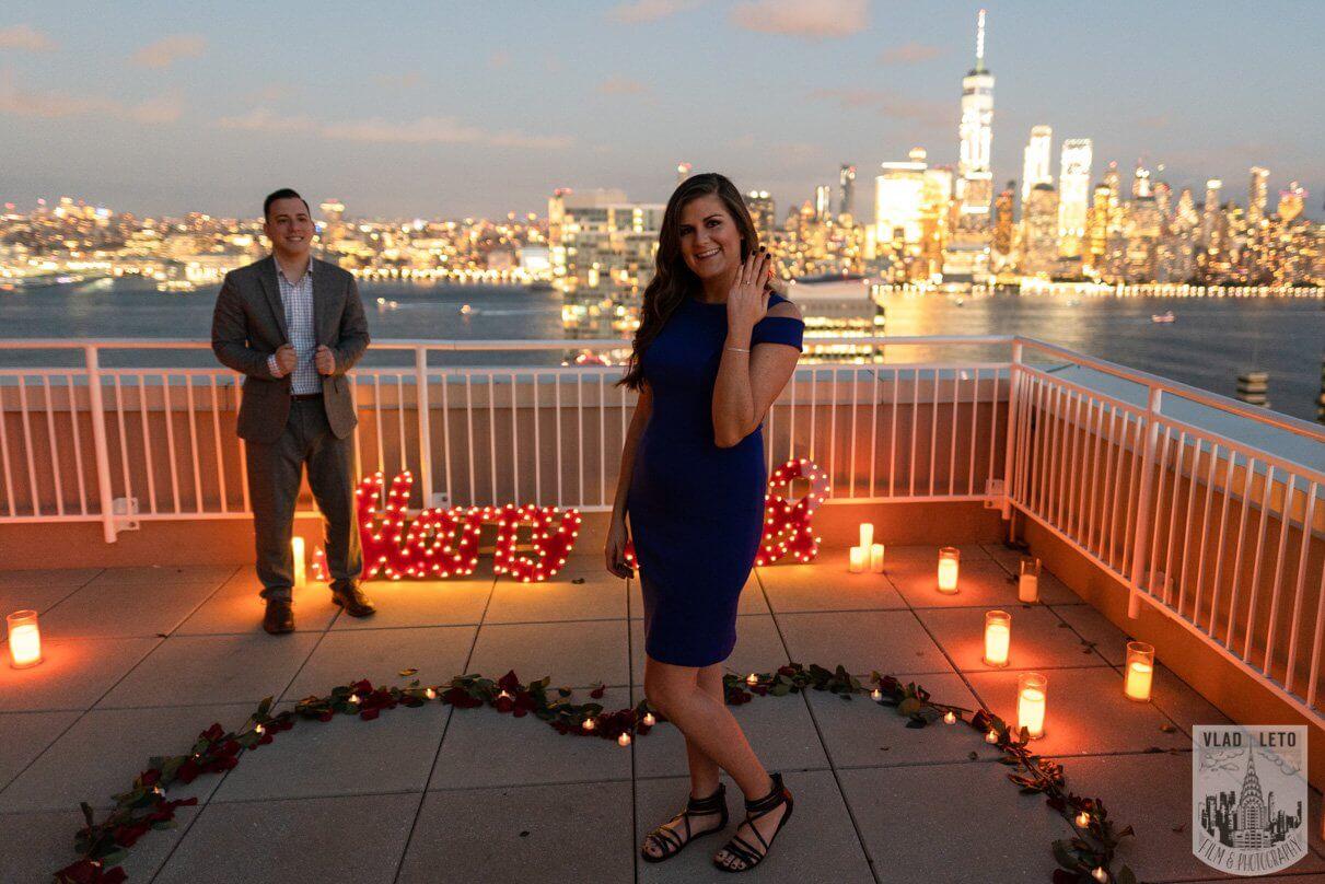 Photo 6 Jersey City Rooftop Proposal | VladLeto