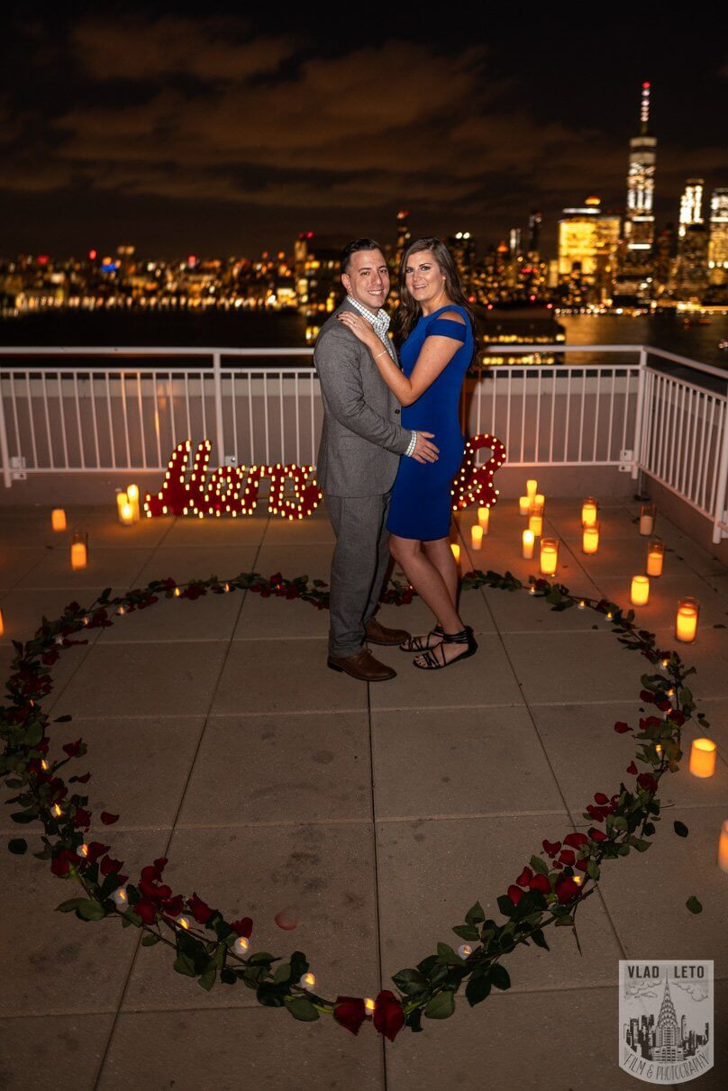 Photo 11 Jersey City Rooftop Proposal | VladLeto
