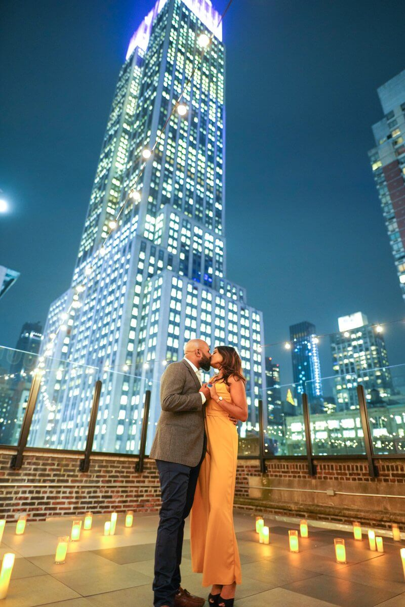 Photo 21 Rooftop proposal in NYC | VladLeto