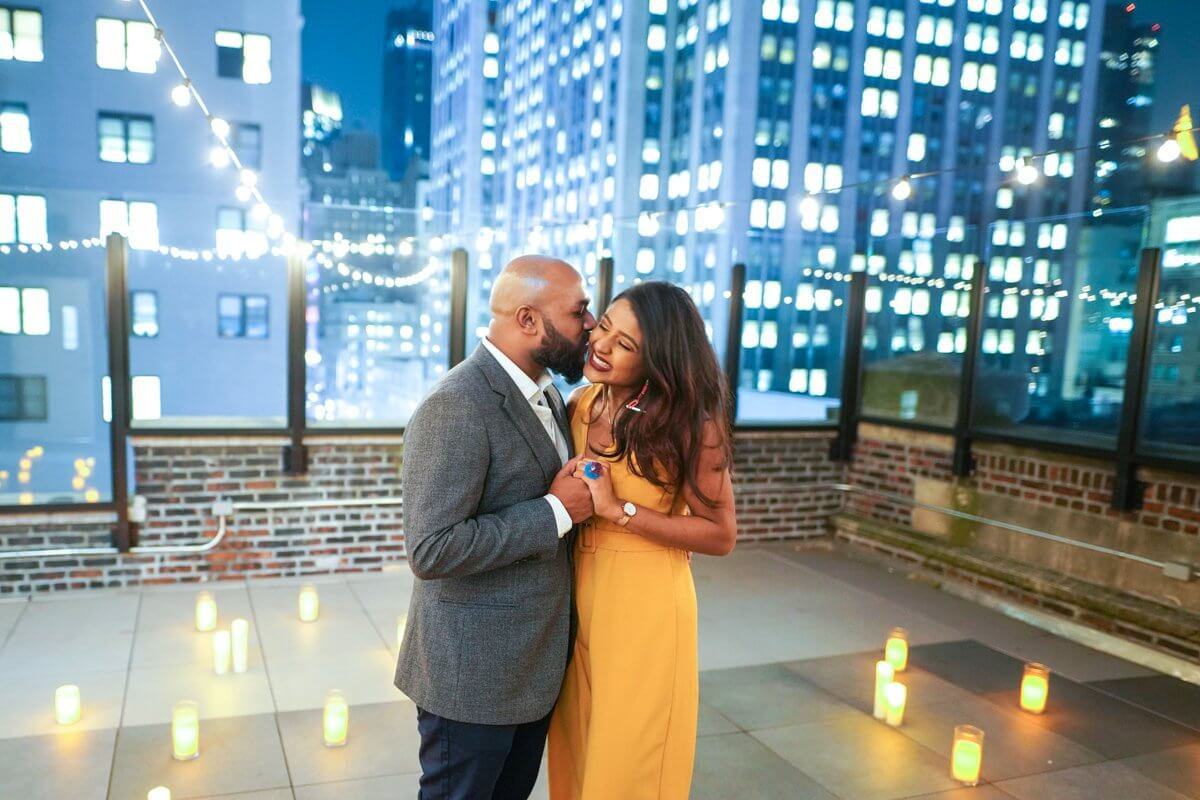 Photo 10 Rooftop proposal in NYC   VladLeto