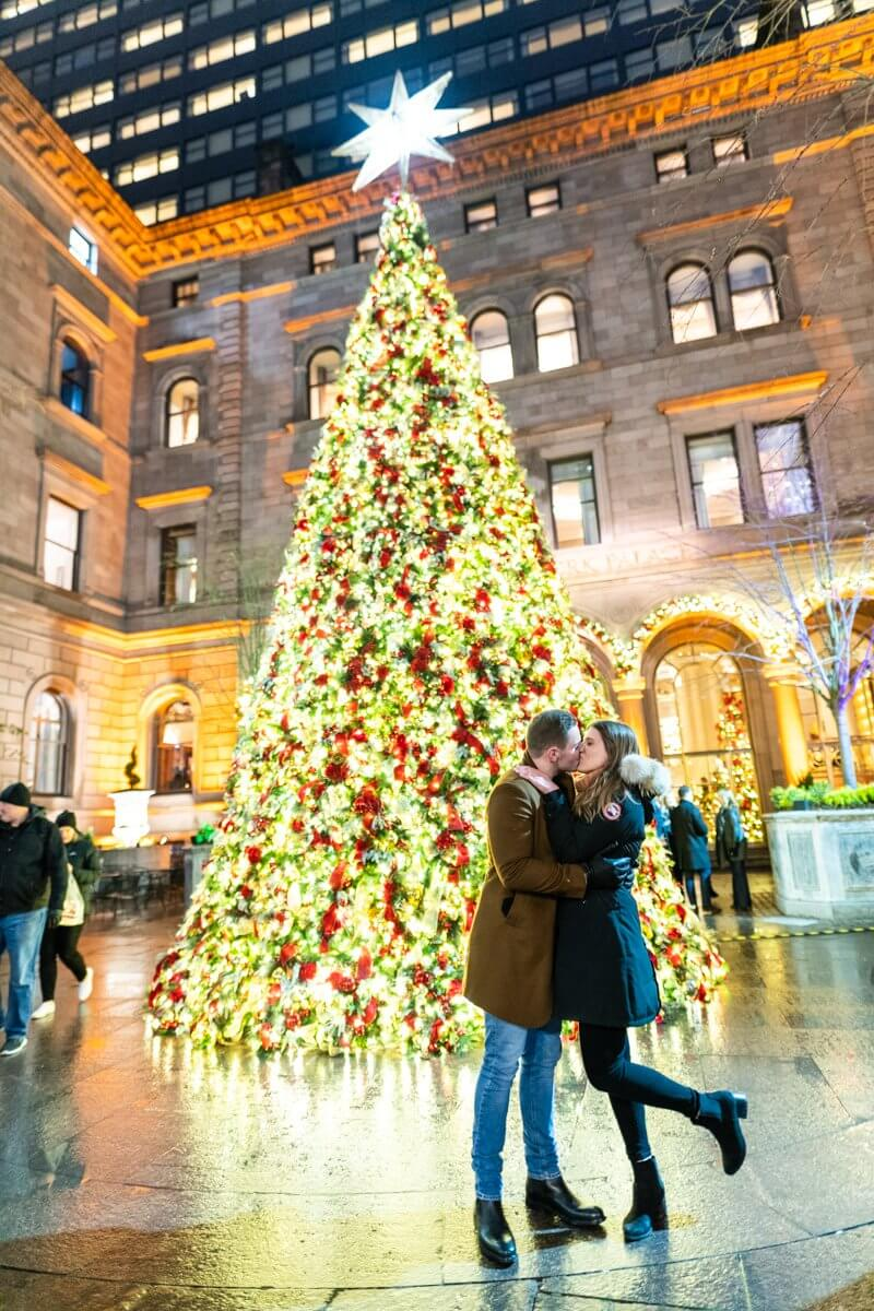 Photo 3 Lotte Palace Christmas Tree Proposal | VladLeto