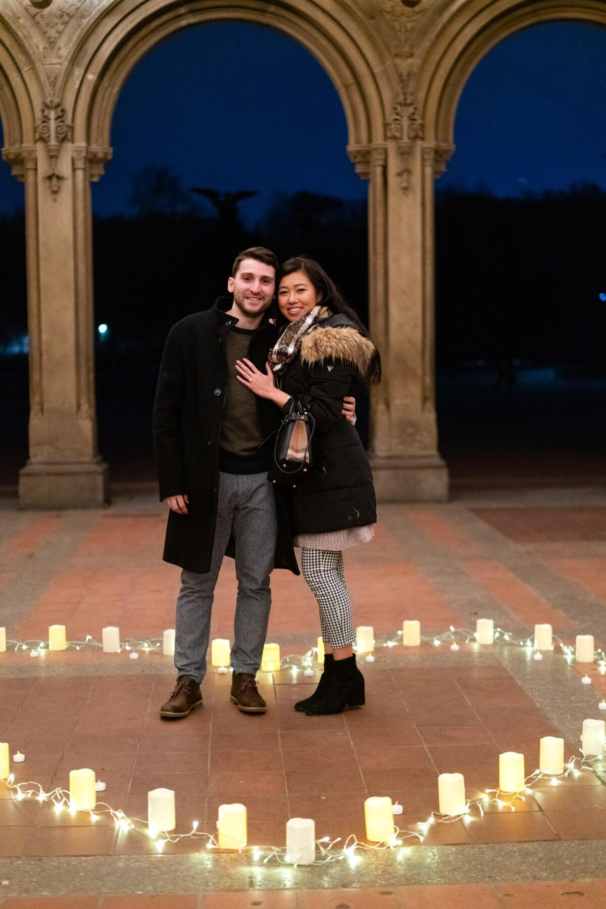 Photo 4 Marriage Proposal at Bethesda Terrace in Central Park. | VladLeto