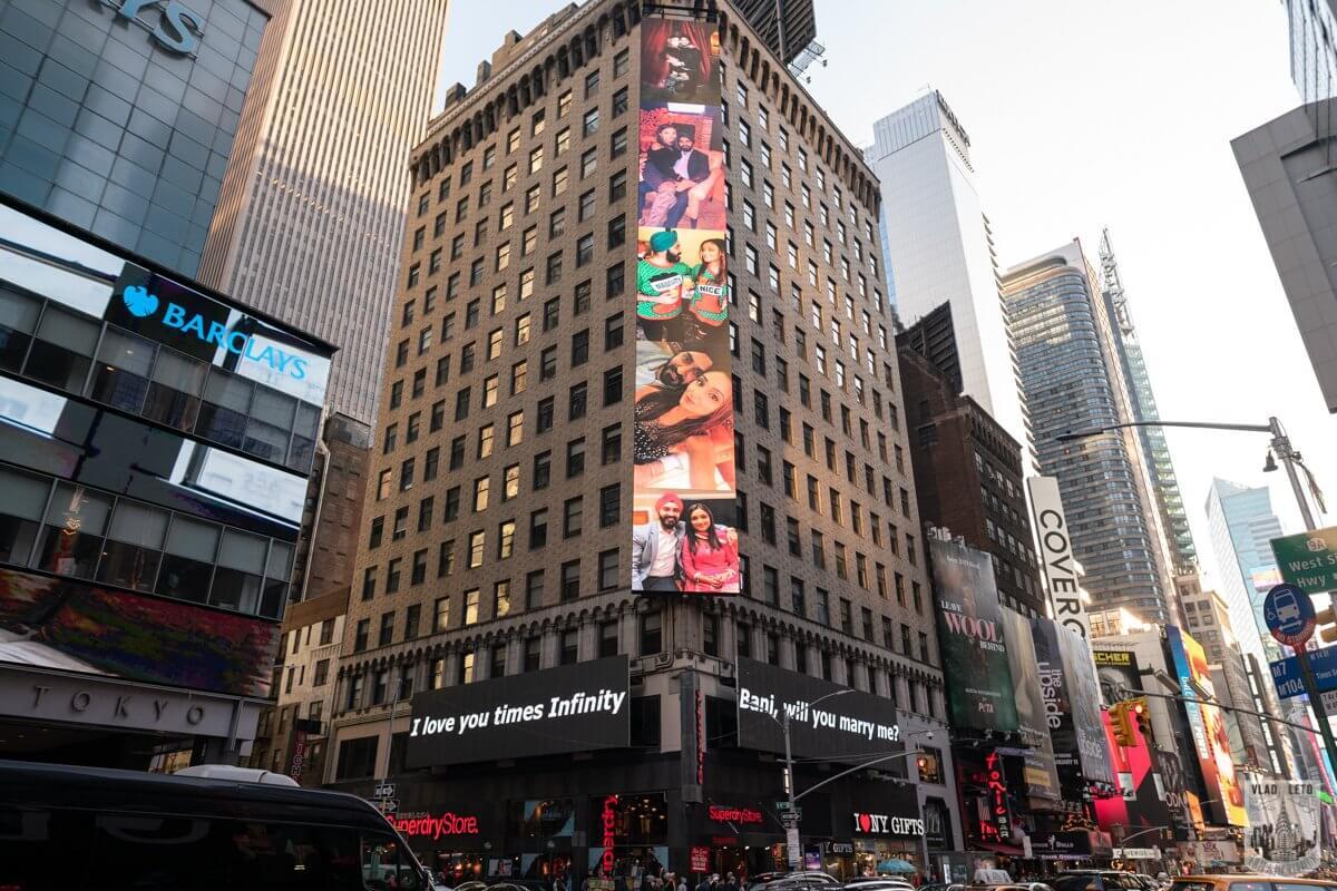 Photo 3 Times Square Billboard Proposal 4 | VladLeto