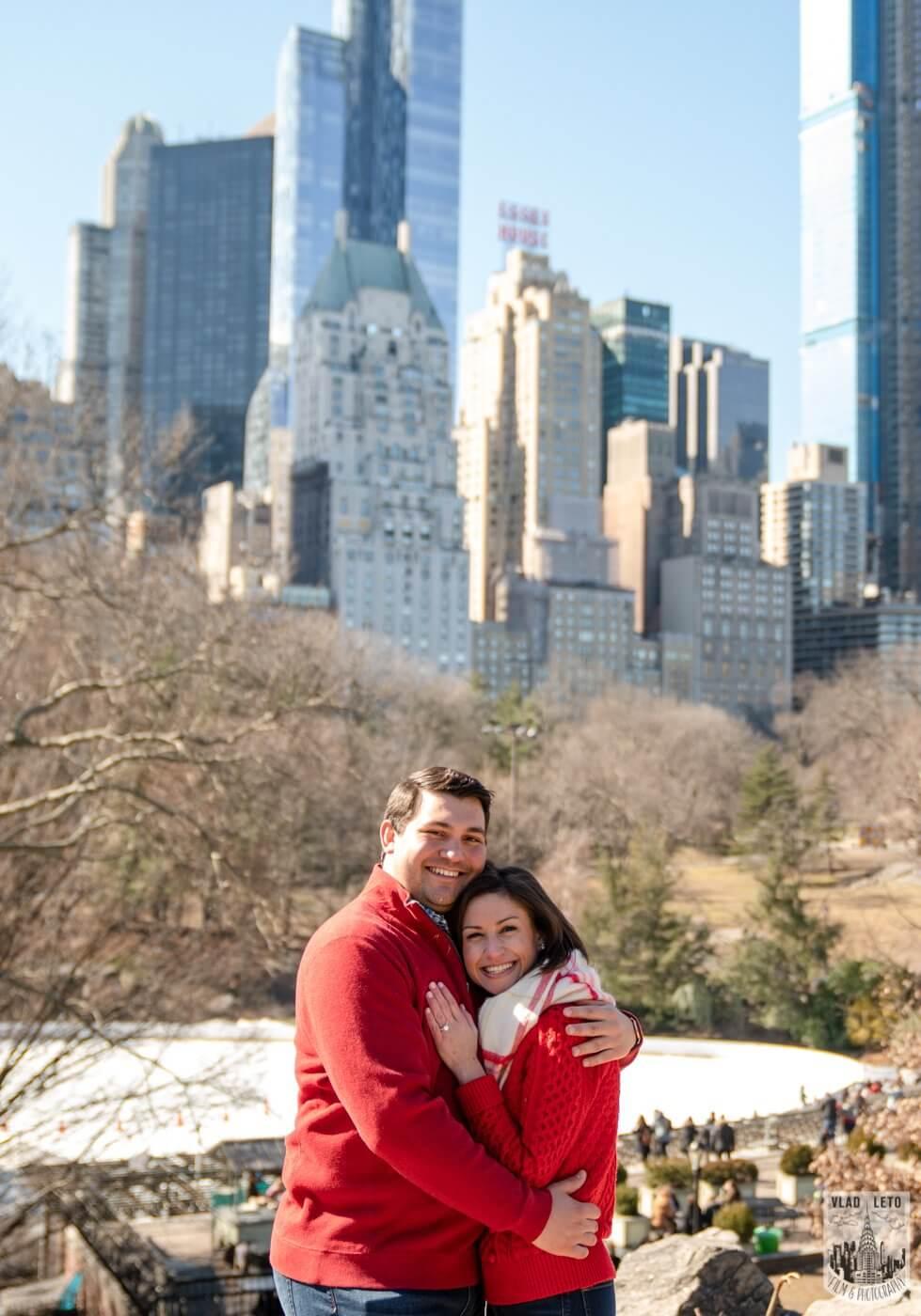 Photo 7 Gapstow bridge Marriage proposal in Central Park | VladLeto