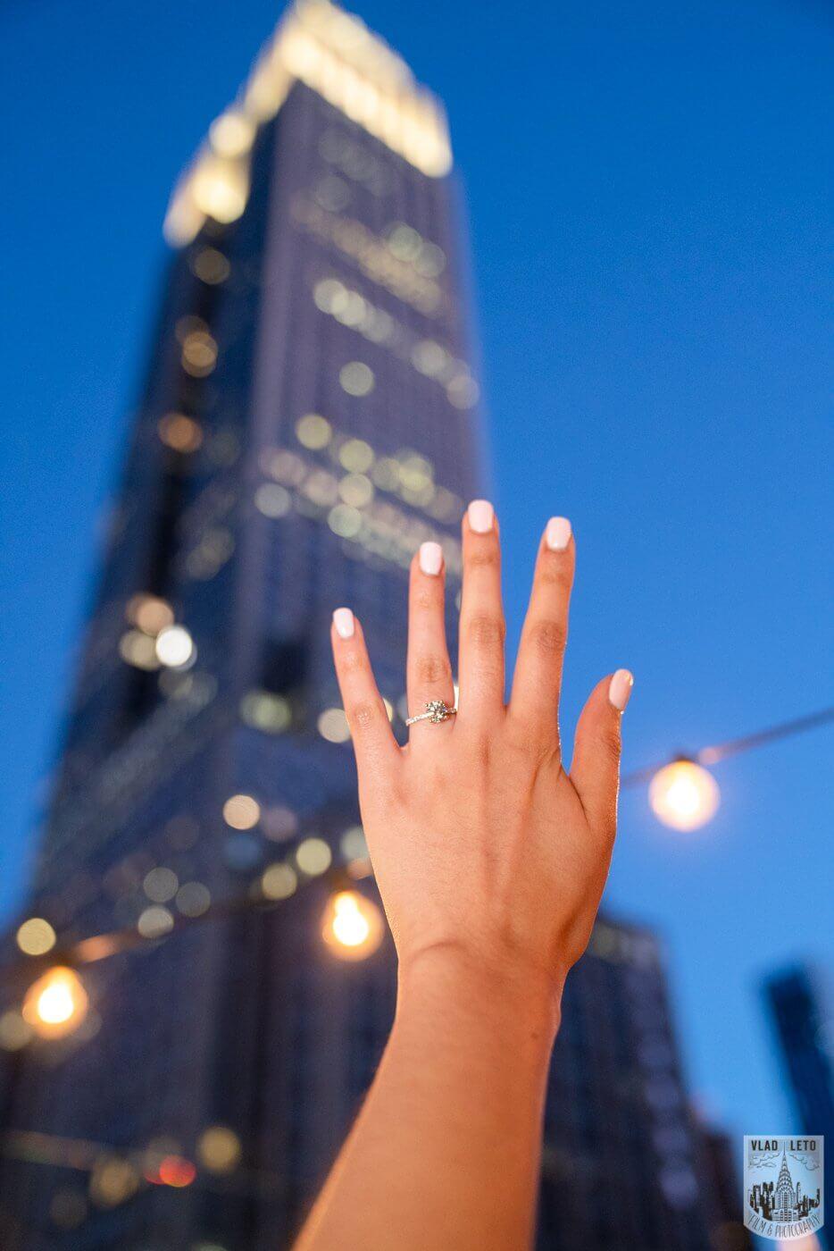 Photo 9 NYC Rooftop Proposal | VladLeto
