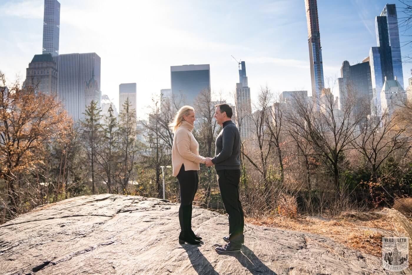 Photo 3 Central Park Wedding proposal   VladLeto