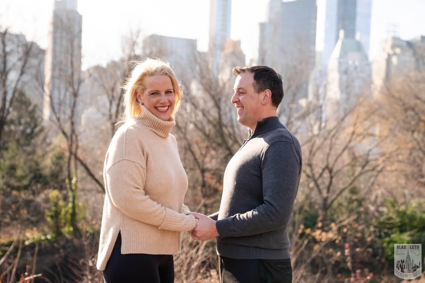 Photo 9 Central Park Wedding proposal | VladLeto