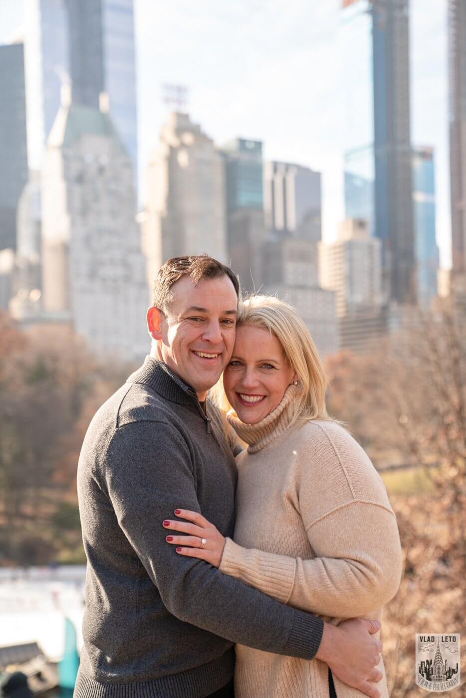 Photo 13 Central Park Wedding proposal | VladLeto