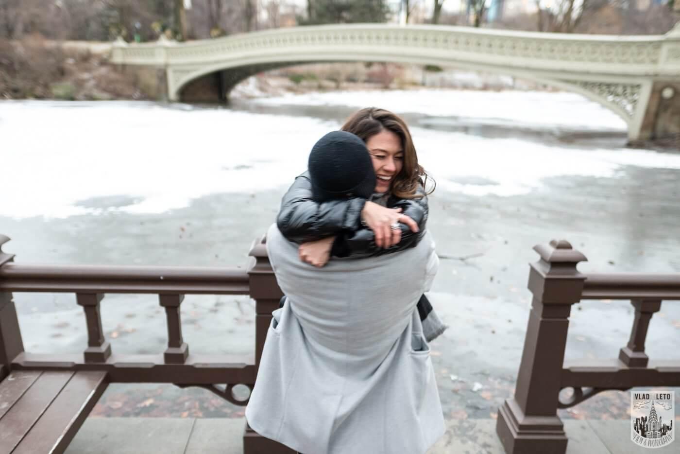 Photo 3 Bow bridge surprise marriage proposal.   VladLeto