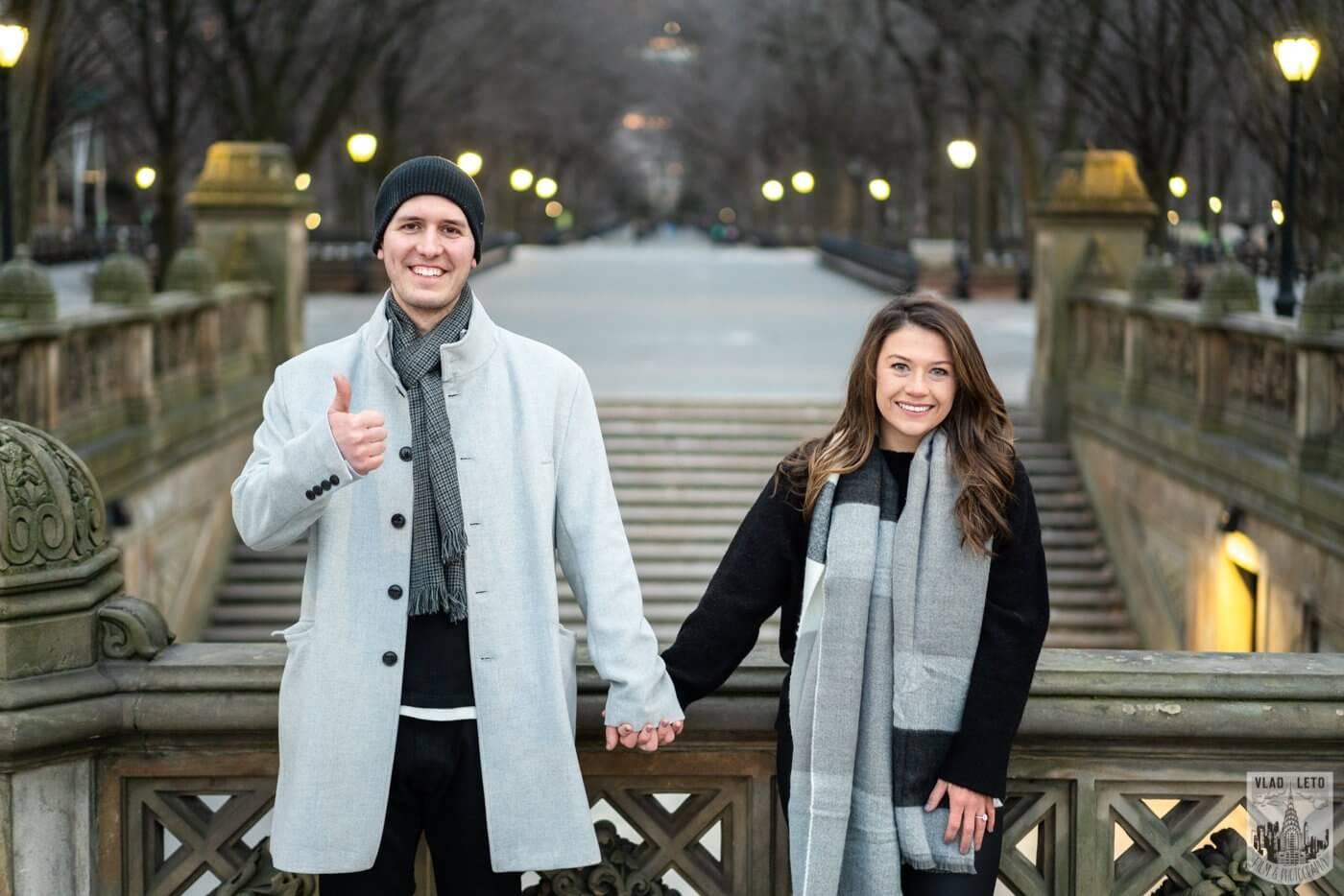 Photo 4 Bow bridge surprise marriage proposal.   VladLeto
