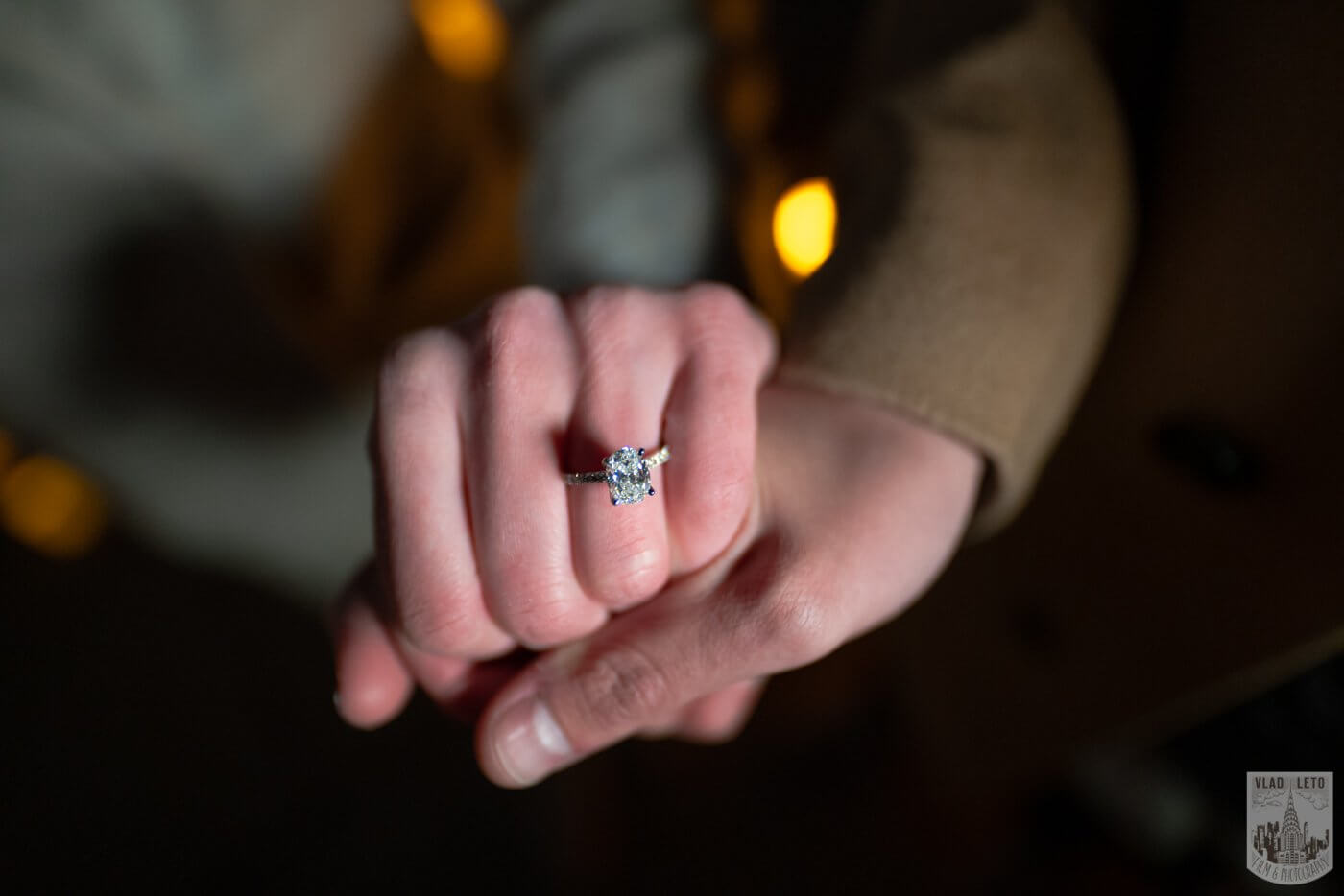 Photo 9 Night Proposal with Candles in Central Park | VladLeto