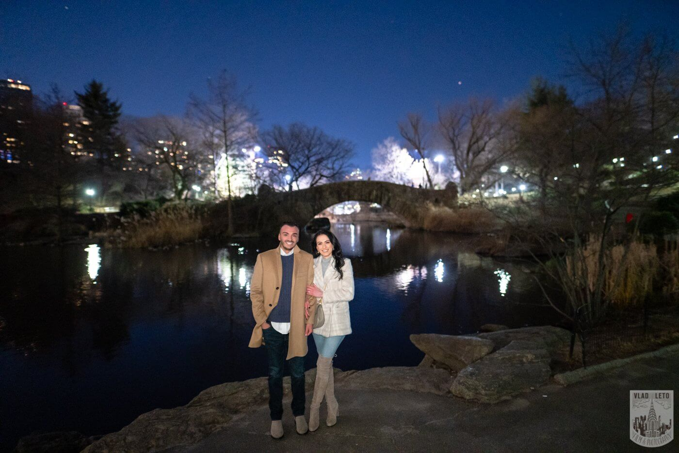 Photo 13 Night Proposal with Candles in Central Park | VladLeto