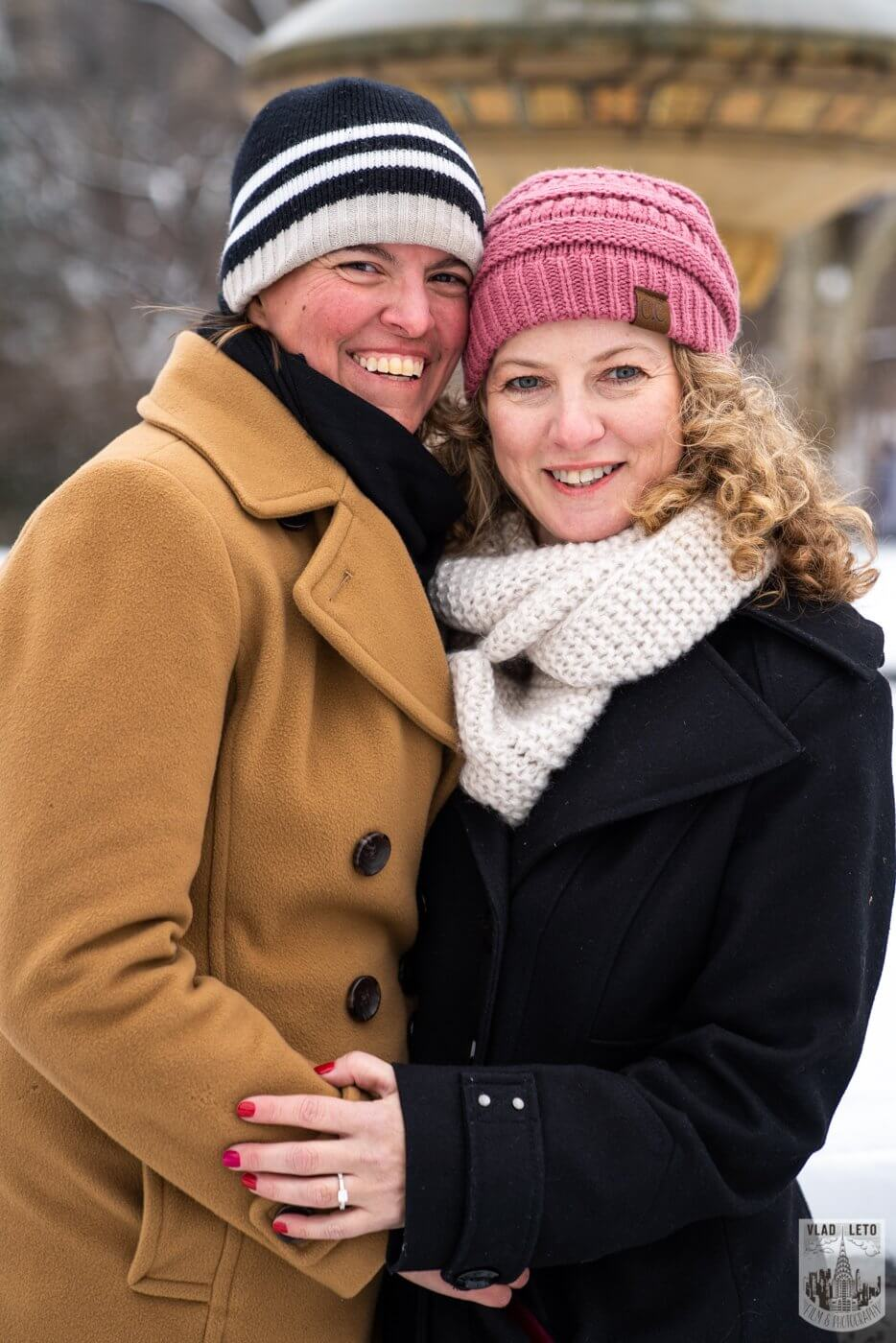 Photo 9 Same sex couple proposal at Cherry Hill in Central Park | VladLeto