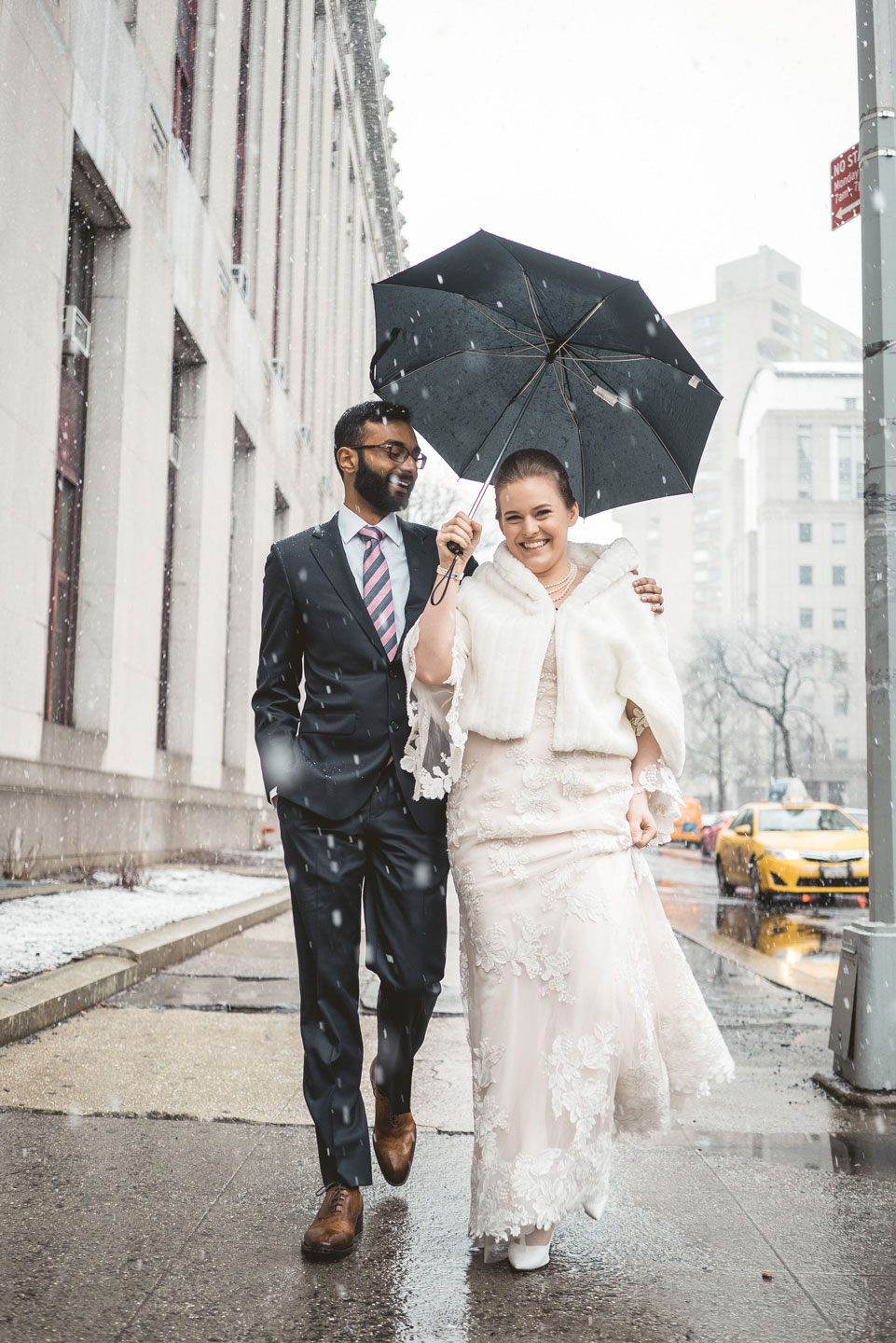 Elopement Photographer in City Hall NYC
