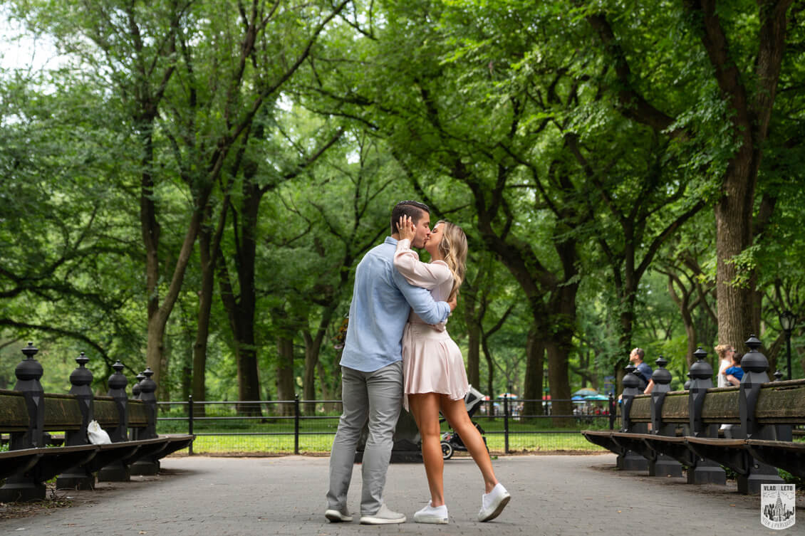 Engagement in Central Park