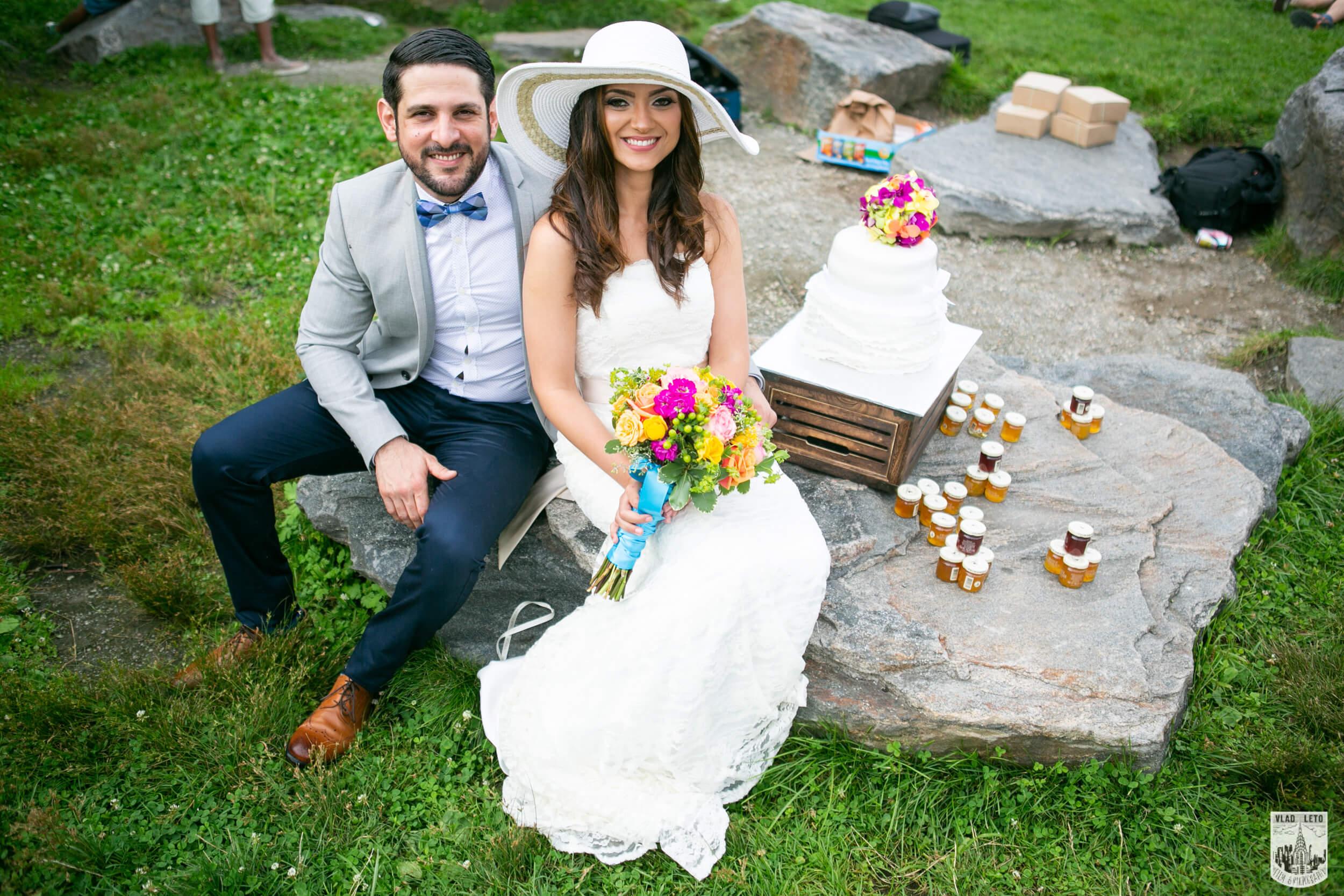 Pop-up wedding in New York