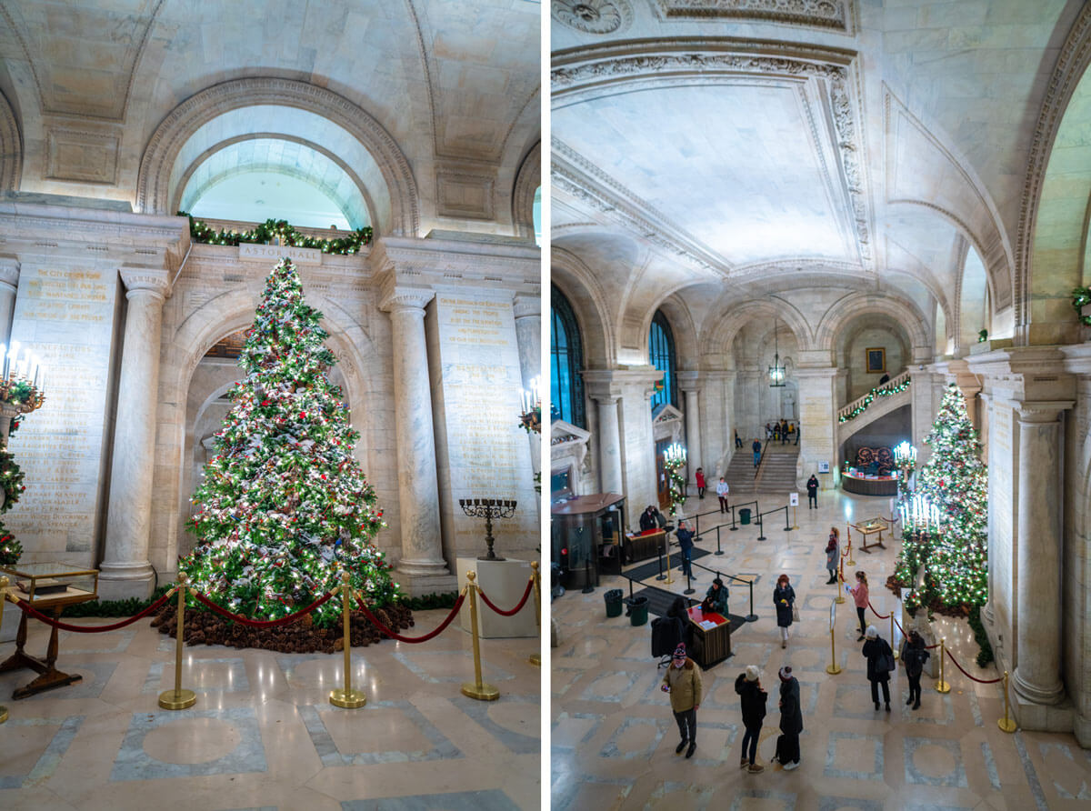 proposal at New York Public Library